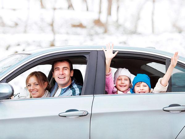 Alquiler de coches navidad