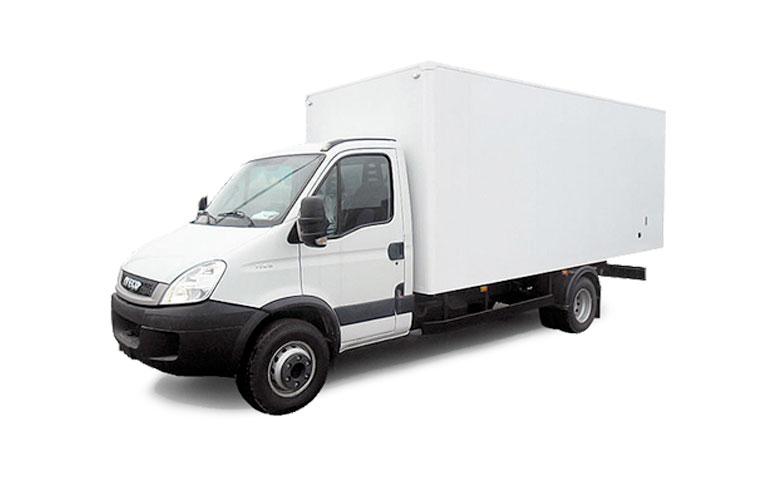 Alquiler furgoneta carrozados 16-20m
