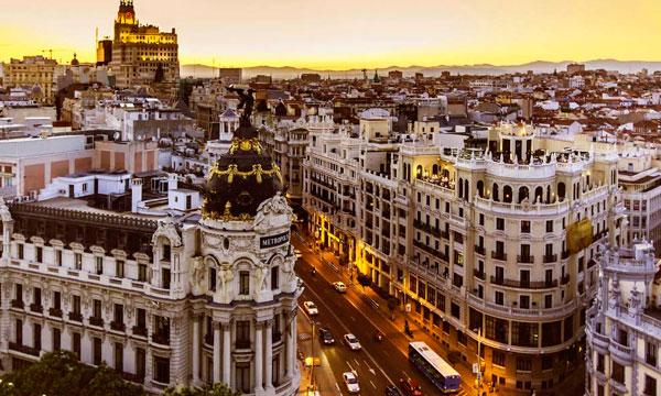 Mejores vistas de Madrid | Alquiler de furgonetas en Madrid