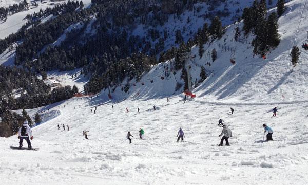 Esquí y excursiones para aprovechar las vacaciones | Alquiler de furgonetas en Pinto